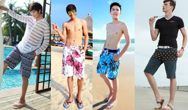 3 cách mix đồ đi biển cực đẹp dành cho nam