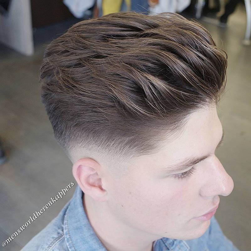 4 kiểu tóc hot nhất 2017 dành cho nam