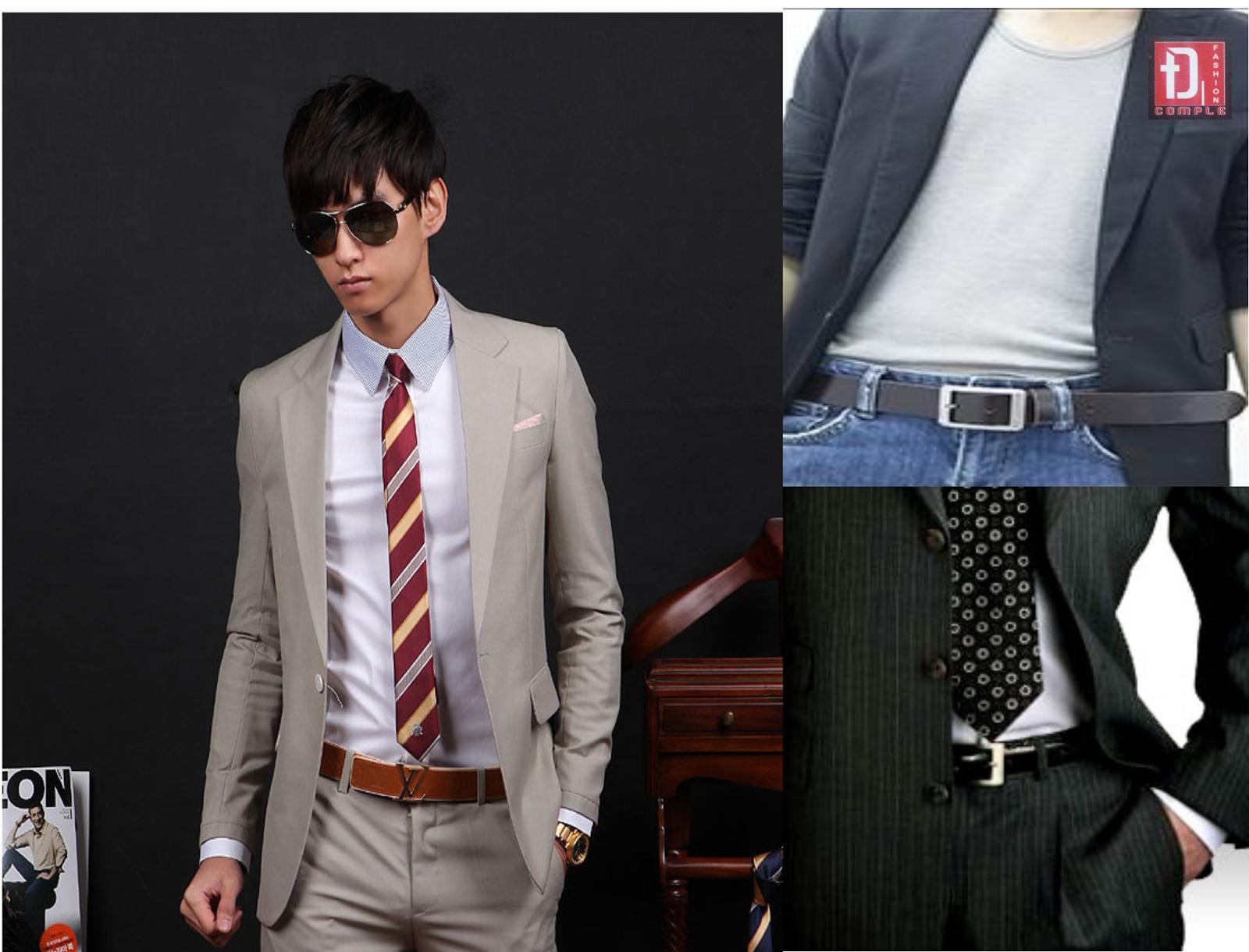 Cách lựa chọn thắt lưng nam phù hợp với mọi loại trang phục