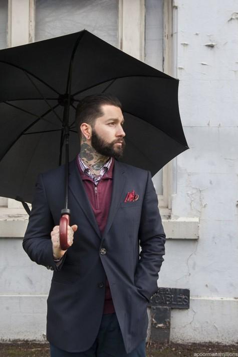 Mẹo mặc quần áo ngày mưa dành cho các quý ông