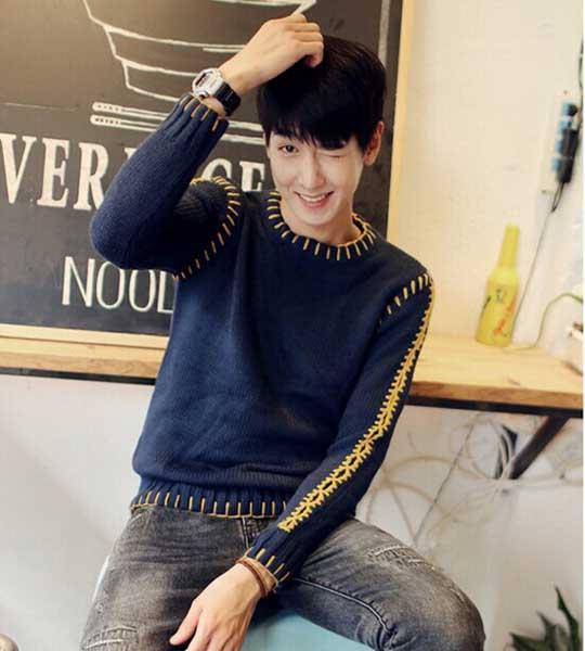 Những mẫu áo len nam Hàn Quốc đẹp nhất hiện nay tại 4men