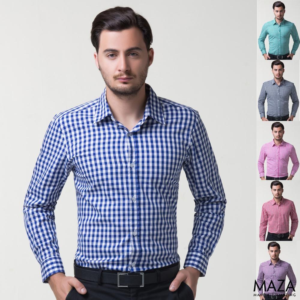 Những mẫu áo sơ mi nam caro nam đẹp nhất hiện nay tại 4MEN