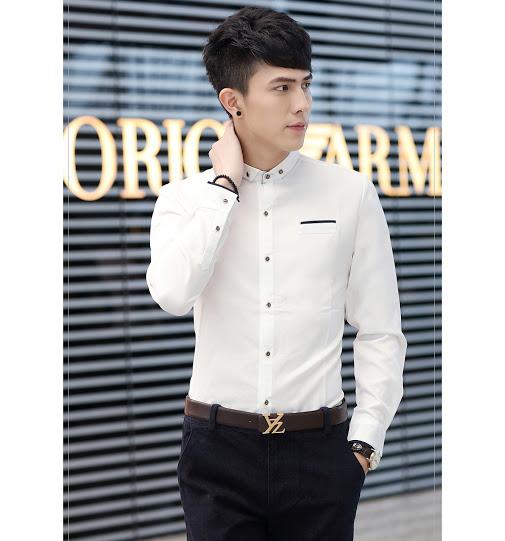 Những mẫu áo sơ mi nam Hàn Quốc đẹp nhất hiện nay tại 4men