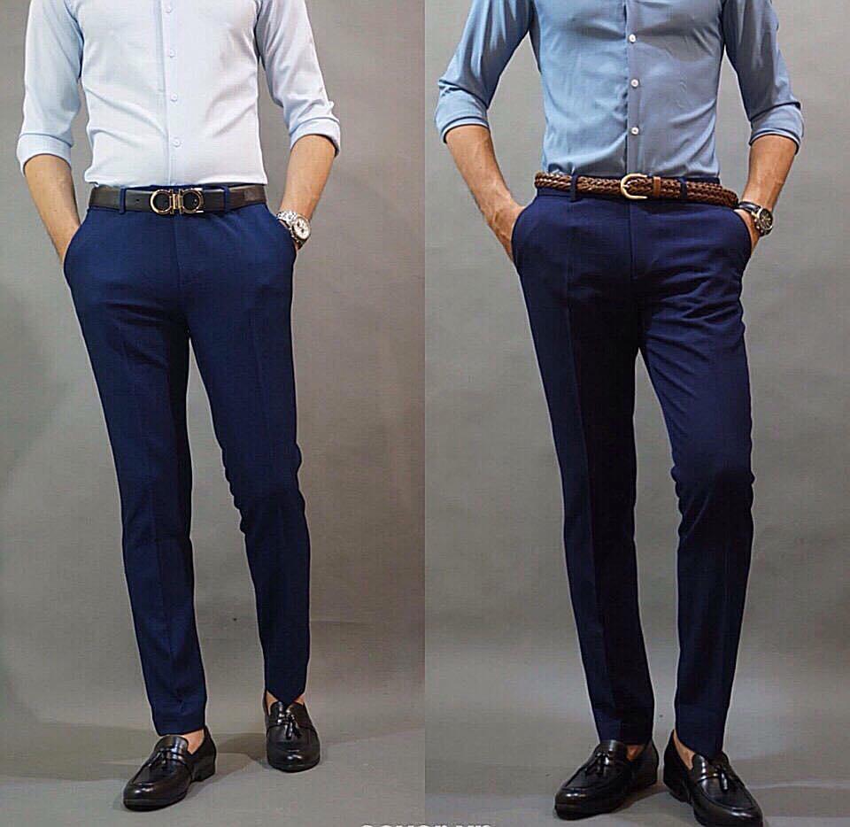3 mẫu quần công sở đẹp, tôn dáng dành cho các quý ông