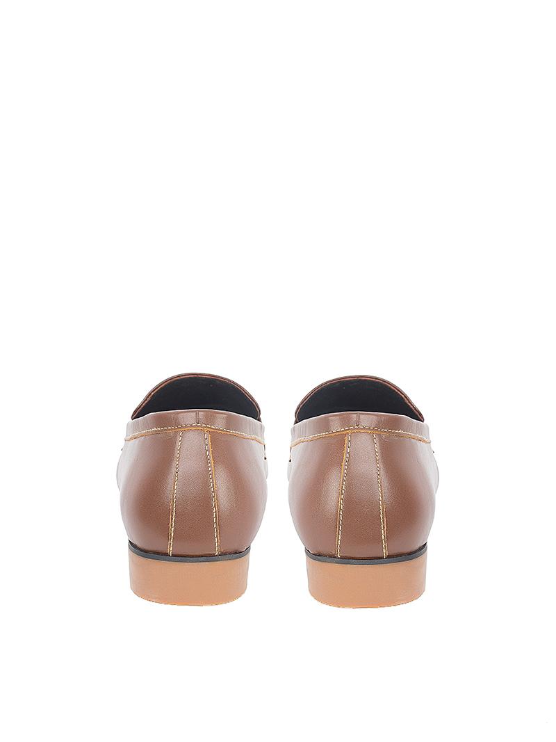 Giày Tăng Chiều Cao Màu Bò Đậm G123