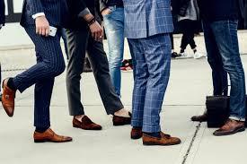 Giày tây nam có từ khi nào?