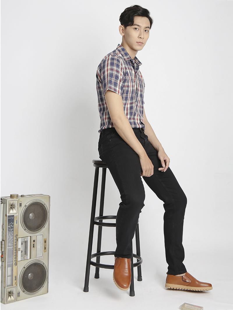 Quần Jeans Skinny Đen QJ1526