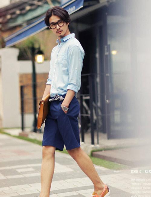 Những xu hướng thời trang nam mùa nóng