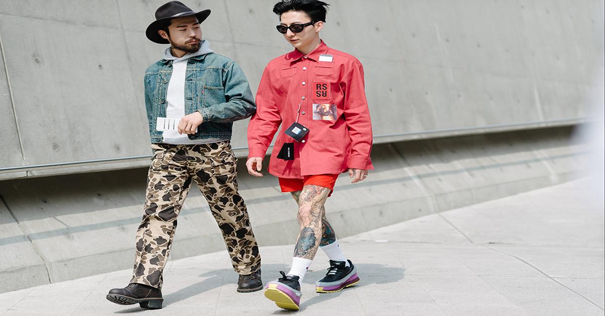 Cách phối trang phục đỏ cho các chàng trai nồng nhiệt
