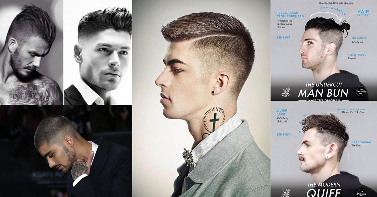 """Kiểu tóc nam """"chất"""" phái mạnh nên thử một lần trong đời"""