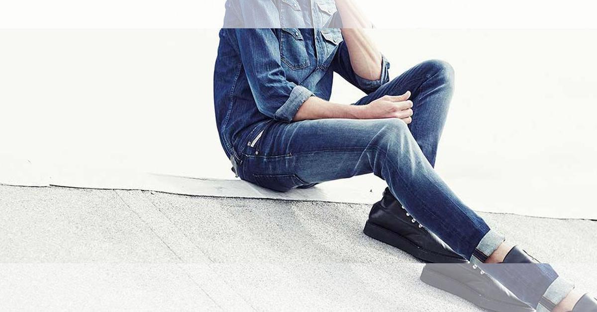 Lưu ý khi mặc quần jean skinny cho nam giới