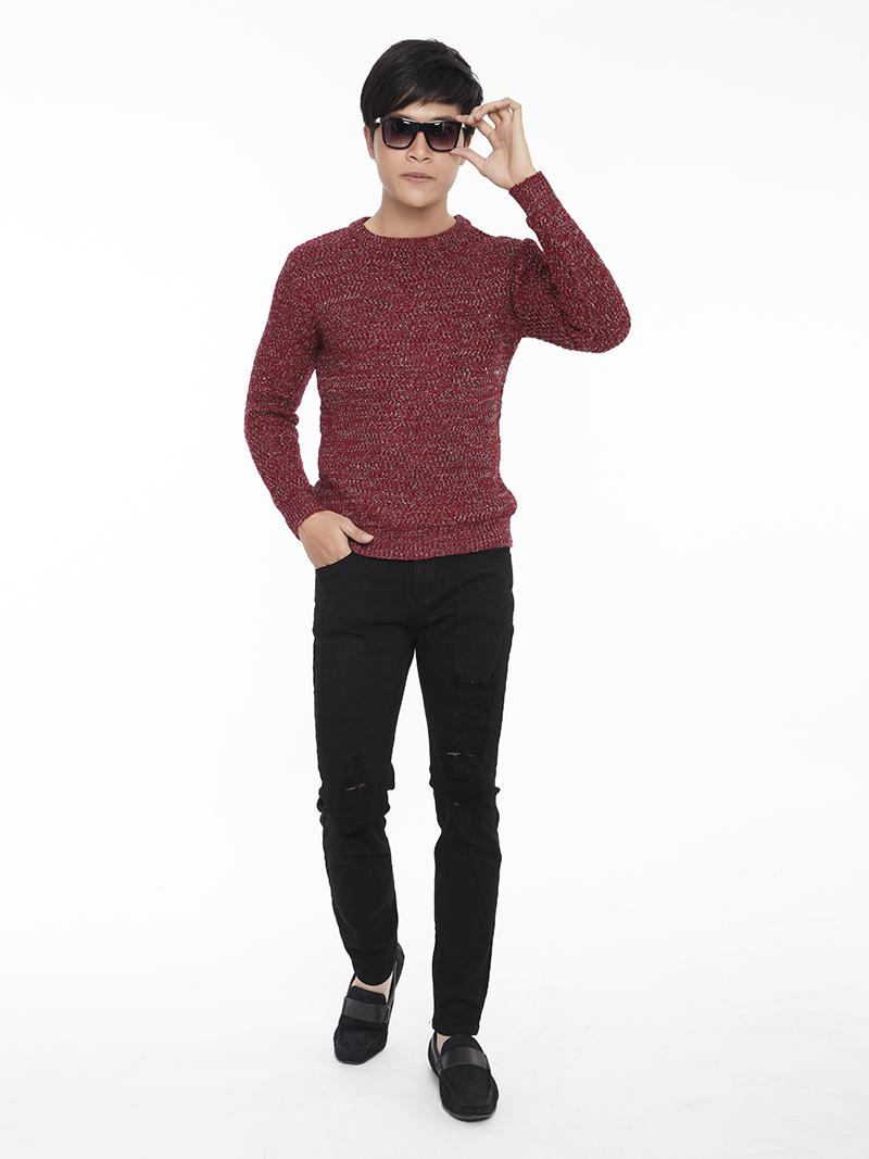 Quần Jeans Rách Đen QJ1560