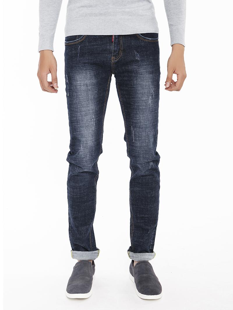 Quần Jeans Skinny Xanh Đen QJ1538