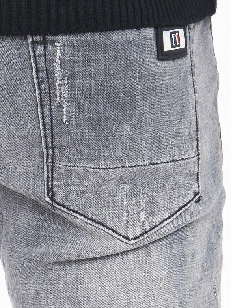 Quần Jeans Skinny Xám Chuột QJ1541