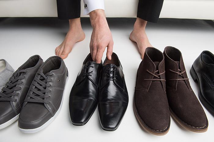 Cách lựa chọn giày vừa chân dành cho các bạn nam