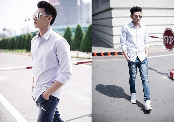 Mặc đẹp cùng phong cách basic nam