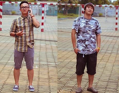 Cách chọn quần short nam cho các chàng trai thấp lùn