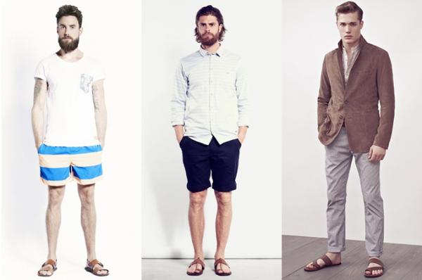 Cách phối đồ cùng giày sandal nam trong dịp hè