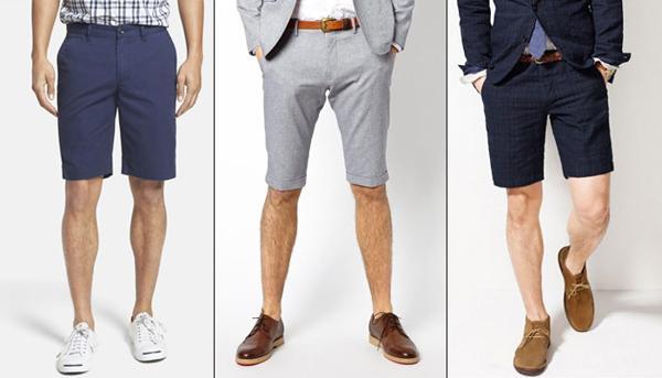 Những quy tắc chọn mua quần short nam