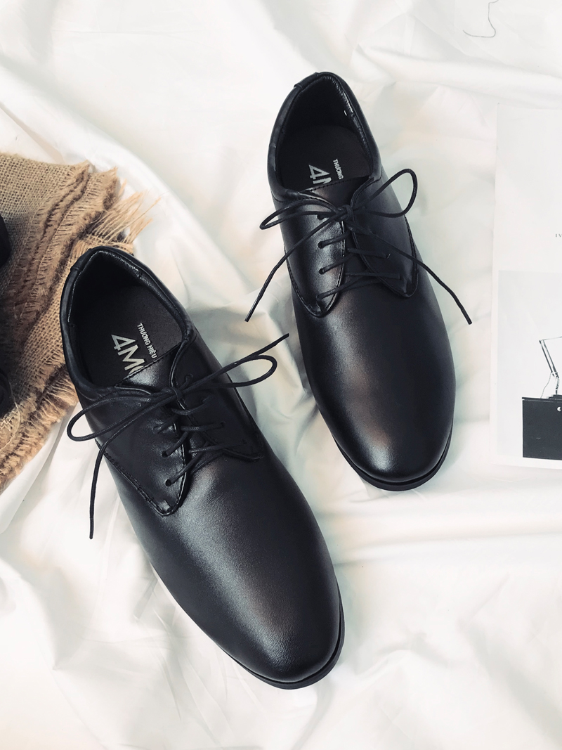 Giày Tăng Chiều Cao Đen G183