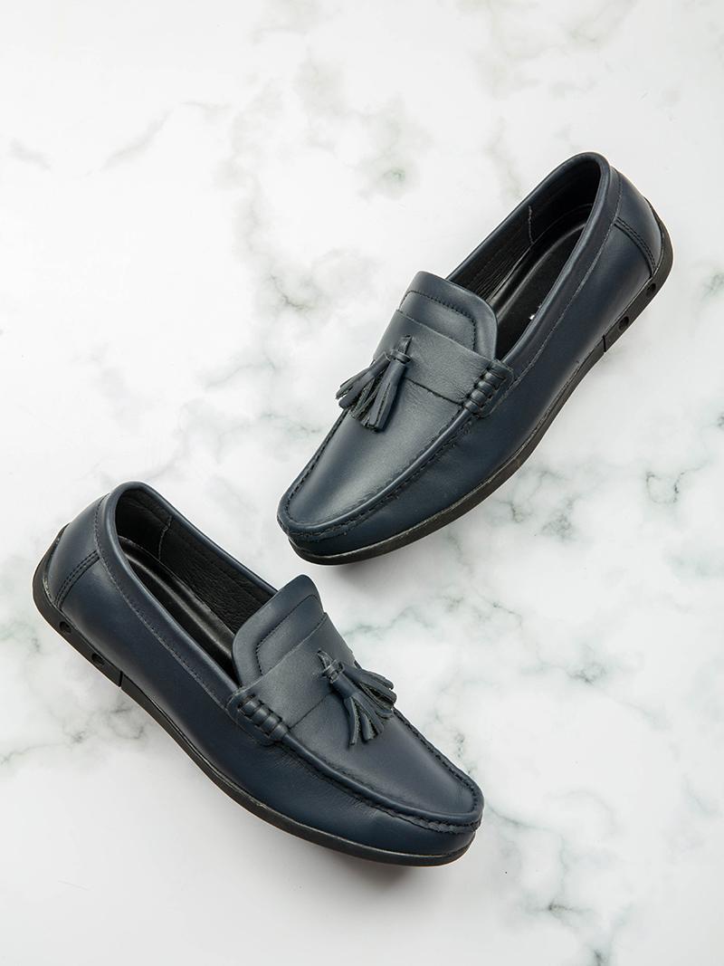 Giày Mọi Xanh Đen G168