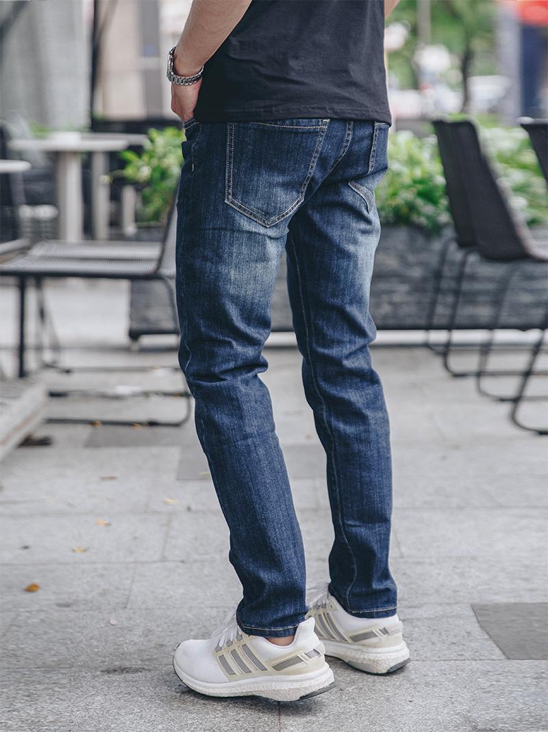 Quần Jeans Slimfit Xanh Đen QJ1624