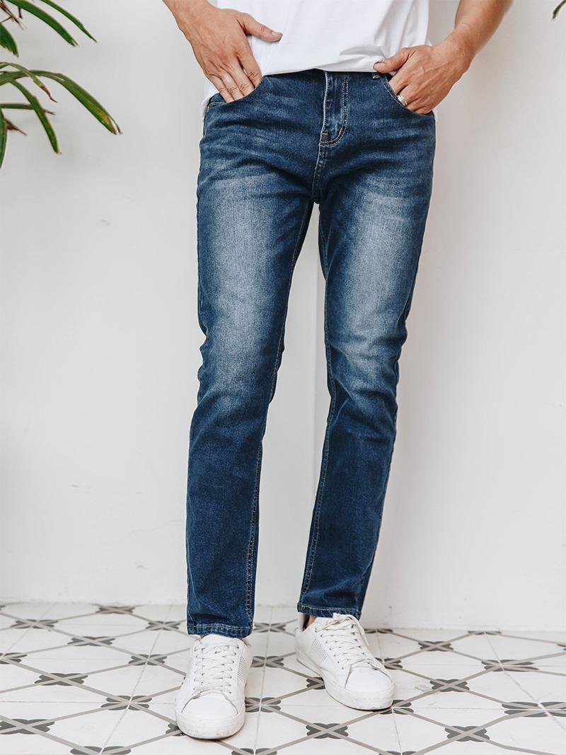 Quần Jeans Skinny Xanh Đen QJ1627