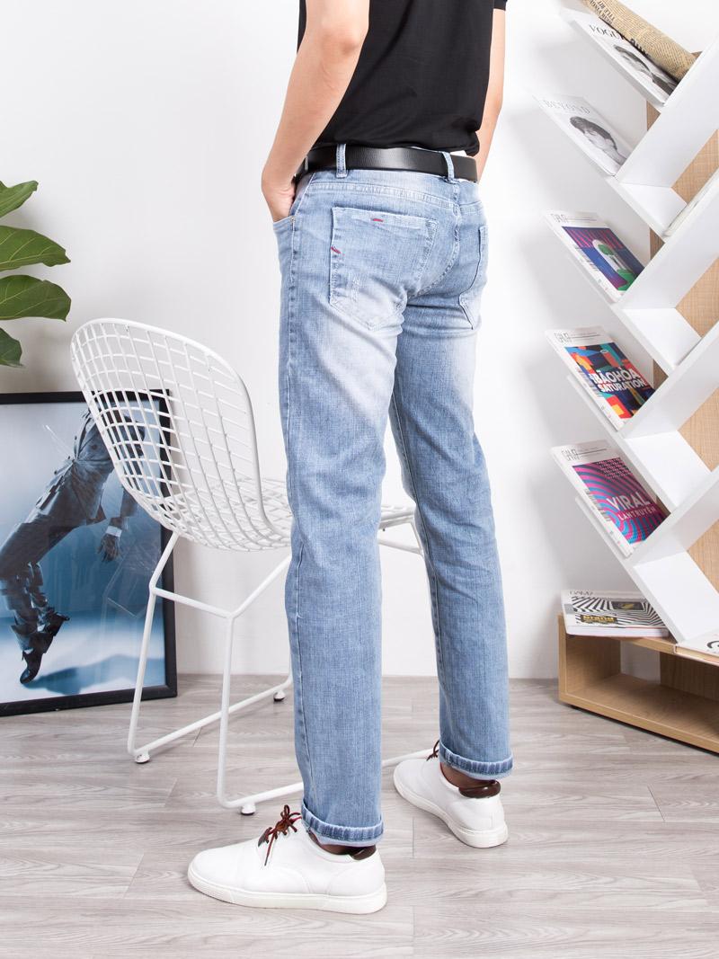 Quần Jeans Slimfit Xám Xanh QJ1639