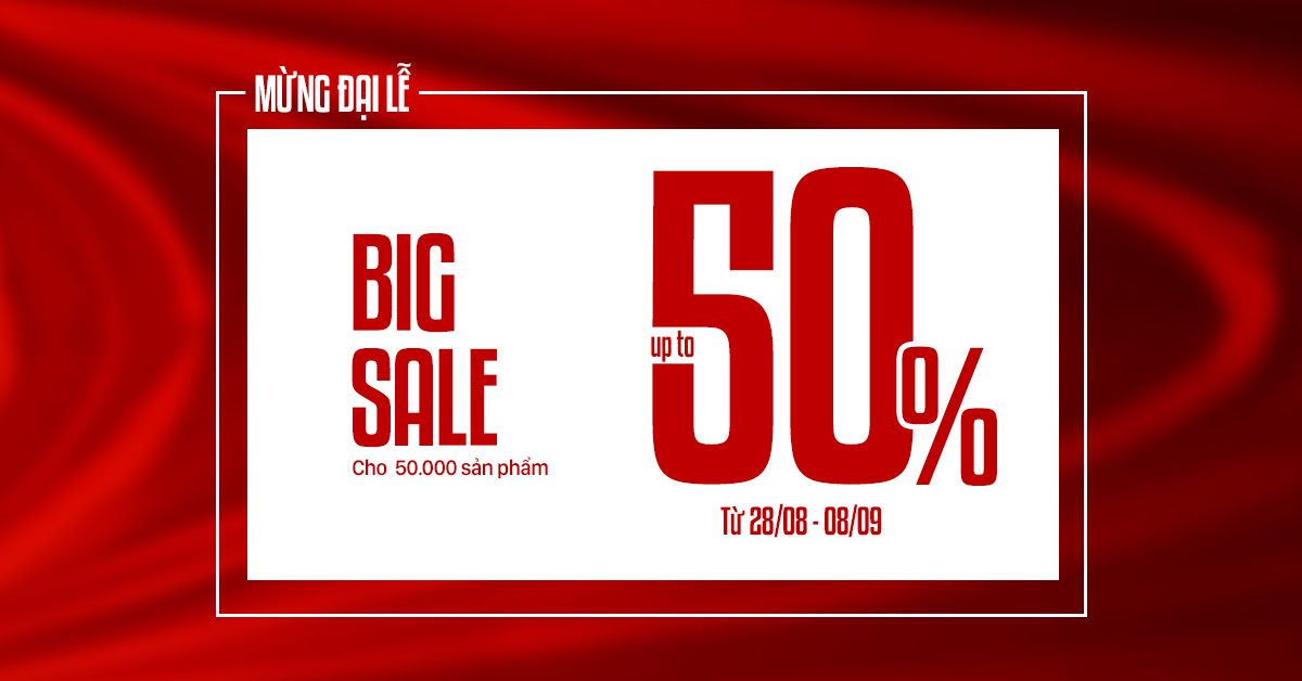 NATIONAL DAY - SALE UPTO 50%