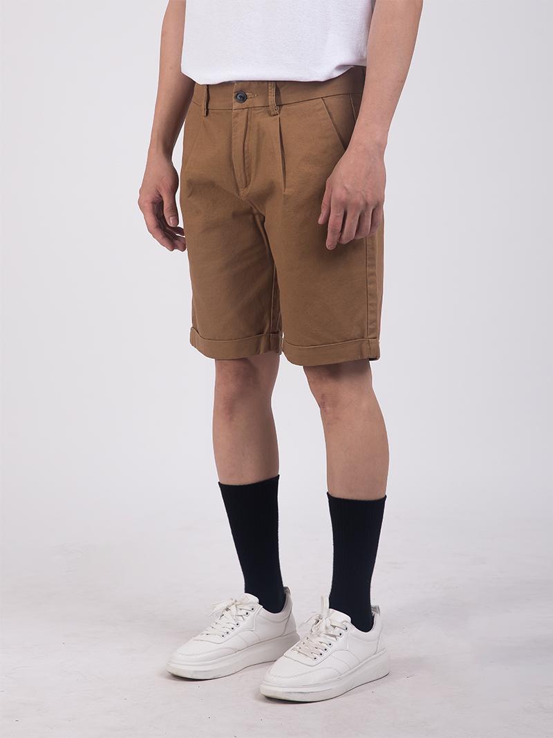Quần Short Kaki Màu Bò QS204
