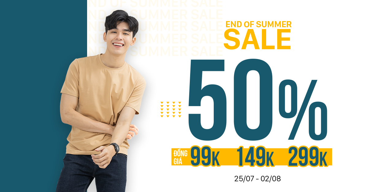 END OF SUMMER - SALE UPTO 50%