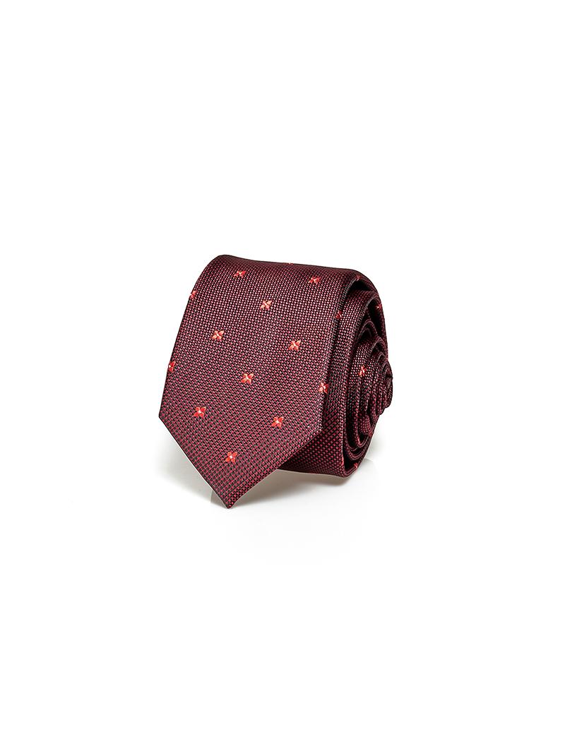 Cavat Họa Tiết CV015 Màu Đỏ