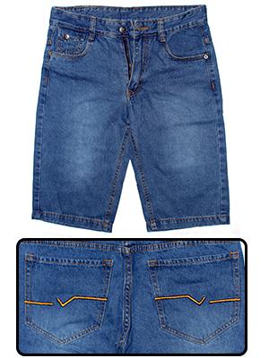 Quần Short Jeans Xanh Dương QS08