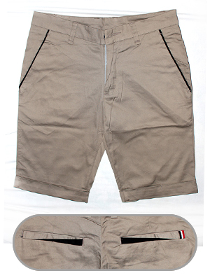 quan short kaki cafe qs20