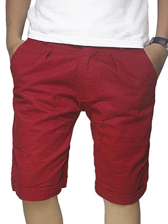 Quần Short Kaki Đỏ QS39
