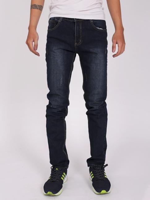 quan jean skinny xanh den qj1268