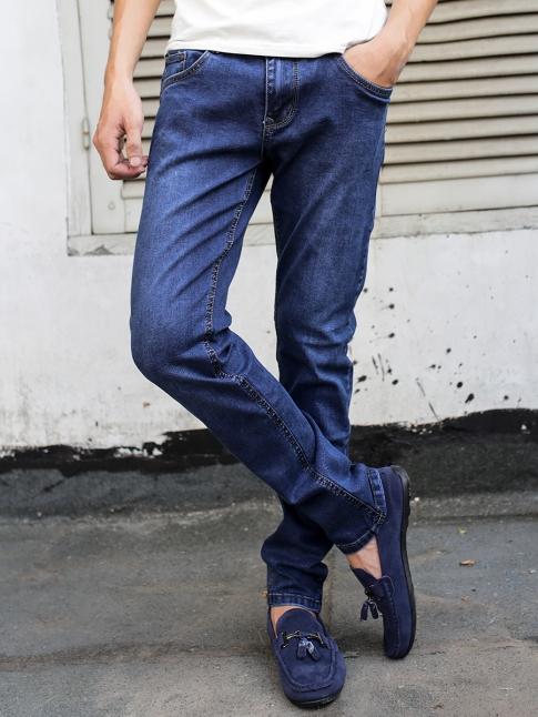quan jean skinny xanh den qj1319