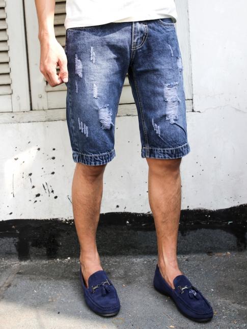 quan short jean xanh den qs60