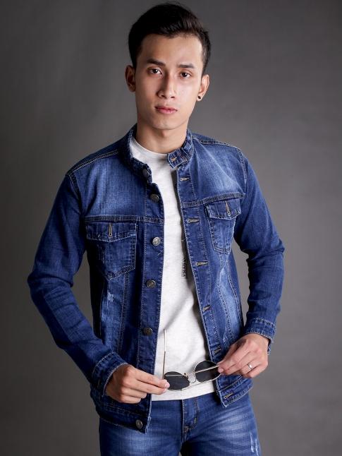 ao khoac jean xanh ak183