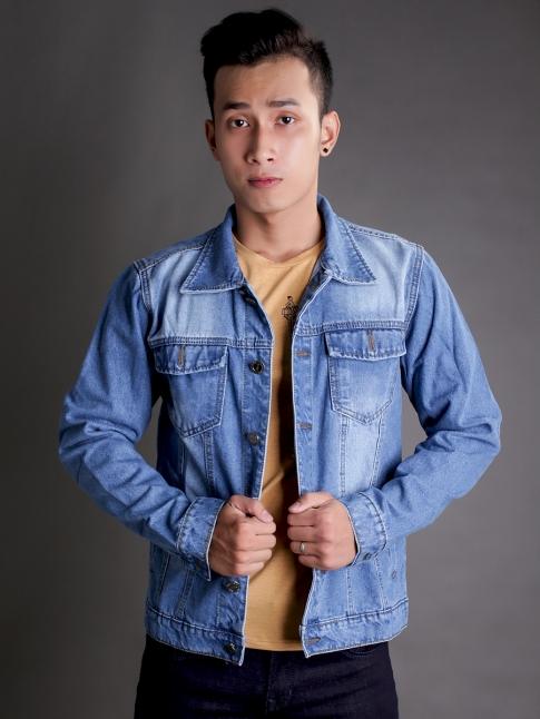 ao khoac jean xanh ak184