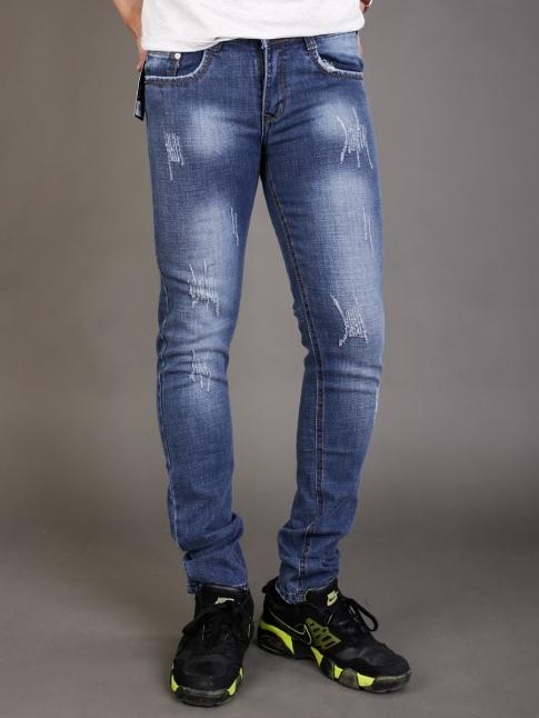 quan jean skinny xanh duong qj1339