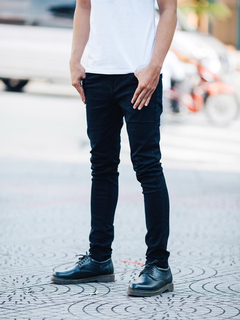 quan jean skinny den qj1407
