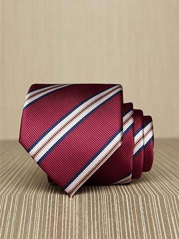 Cà Vạt Hàn Quốc Sọc Đỏ CV165