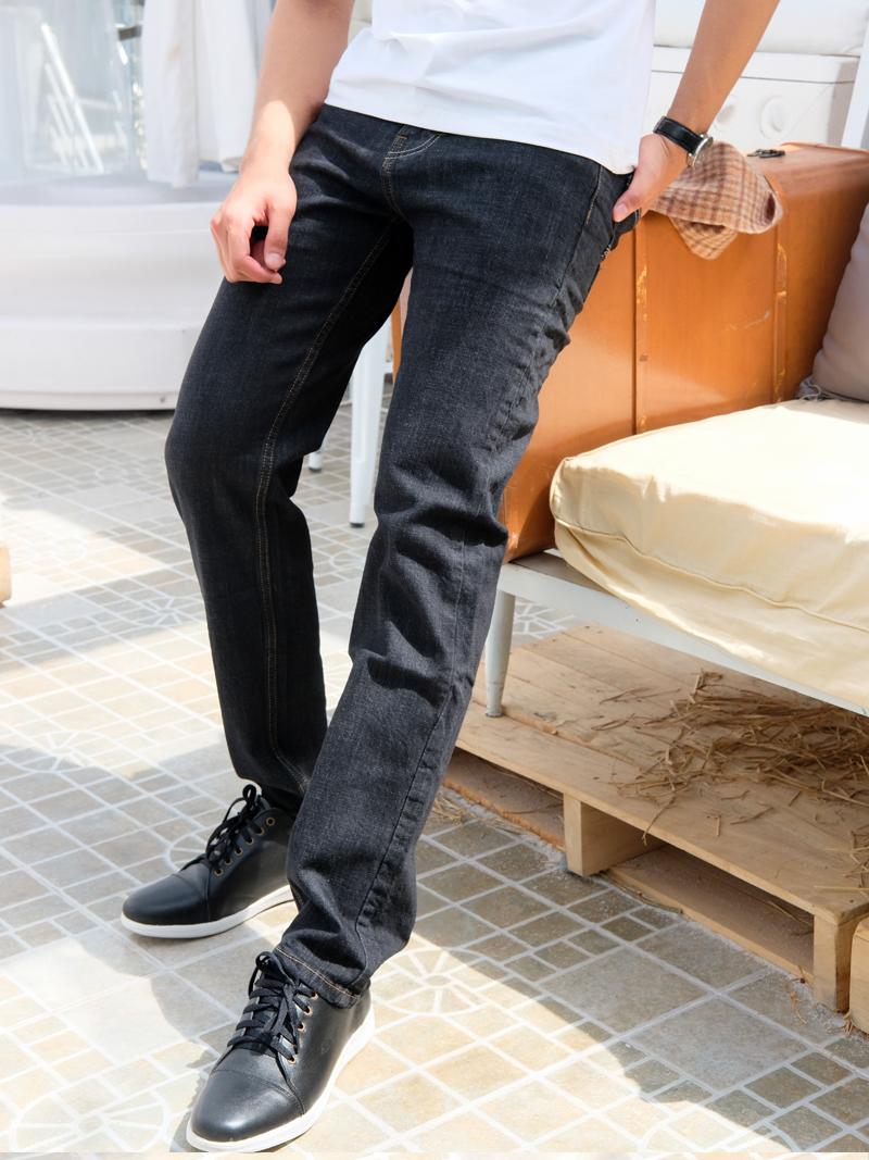 quan jeans ong dung den qj1594
