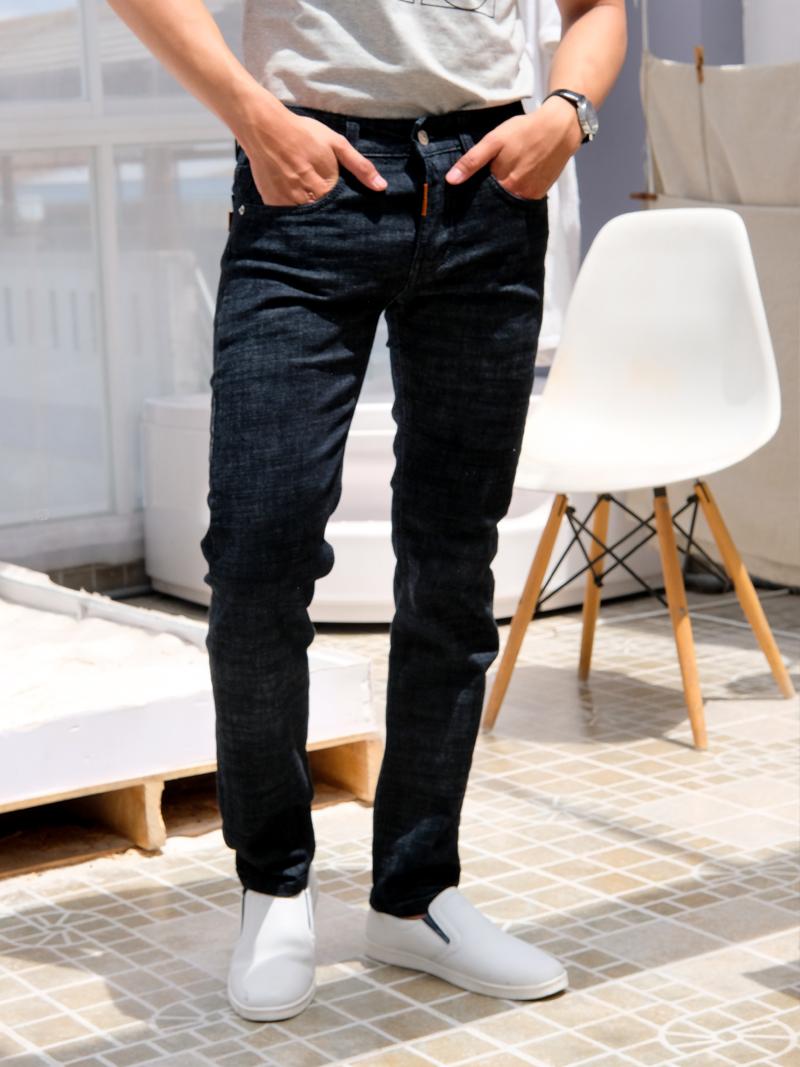 quan jeans skinny xanh den qj1584