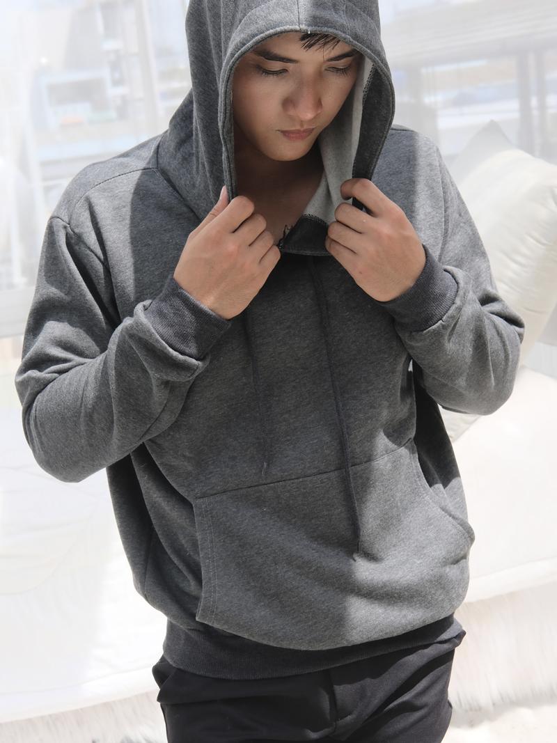 ao khoac hoodie xam chuot ak242