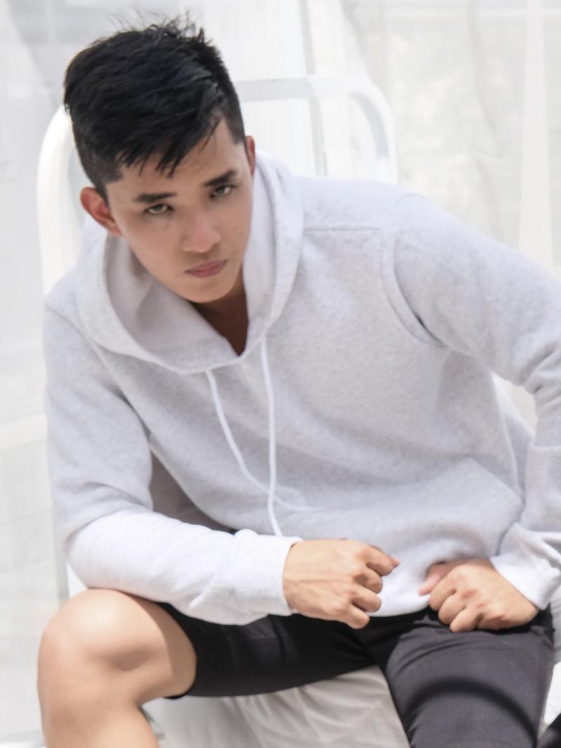 ao khoac hoodie xam trang ak242