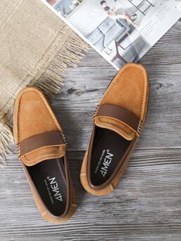 Giày Mọi Màu Bò G170