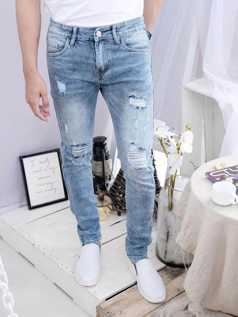 quan jeans rach xam qj1602