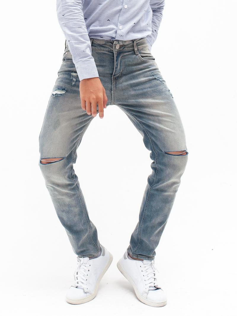 quan jeans rach xam qj1603